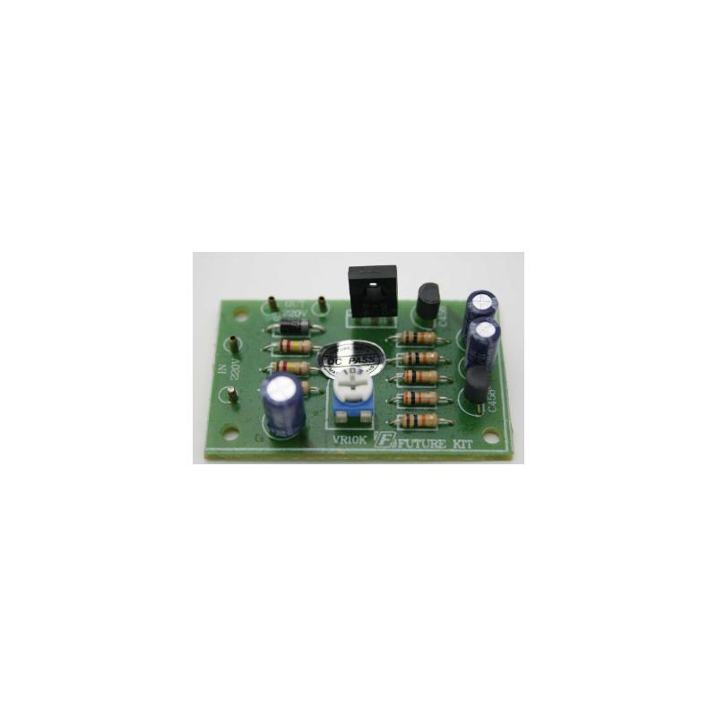 Kit electrónico para montar un Flash de 1 o 2 canales a 220 V CA 700 W