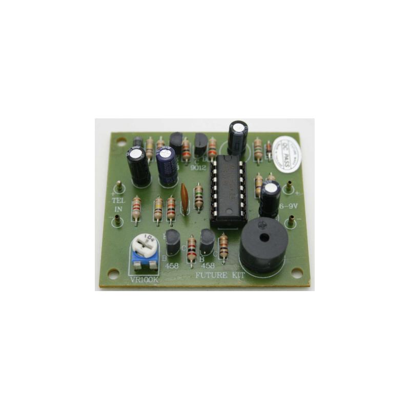 Kit electrónico para montar un Alargador telefónico para montar timbre