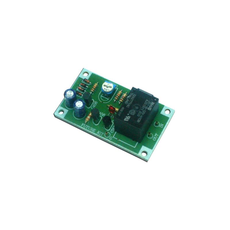 Kit electrónico para montar un Protector de altavoz-amplificador mono