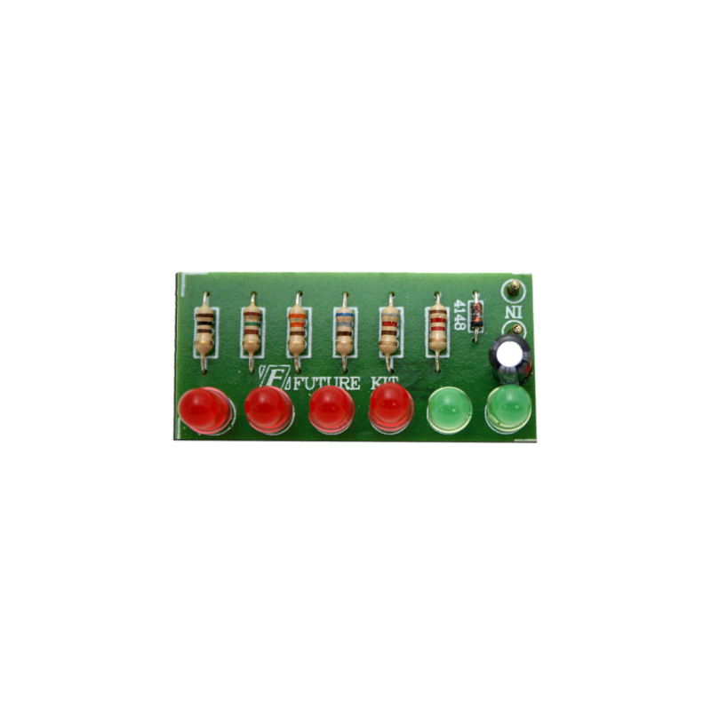 Kit electrónico para montar un contador con juego de 6 luces LED 5-30W