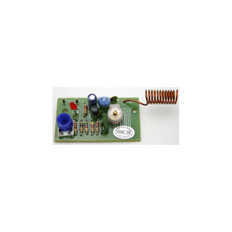 Kit electrónico para montar un Transmisor telefónico FM (88-108 MHz)