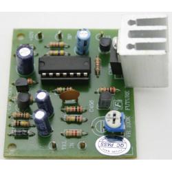 Kit electrónico para montar un Timbre telefónico de alta potencia. 12V
