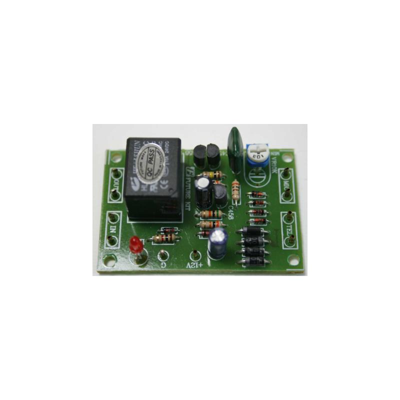 Kit electrónico para montar un Adaptador para grabaciones telefónicas