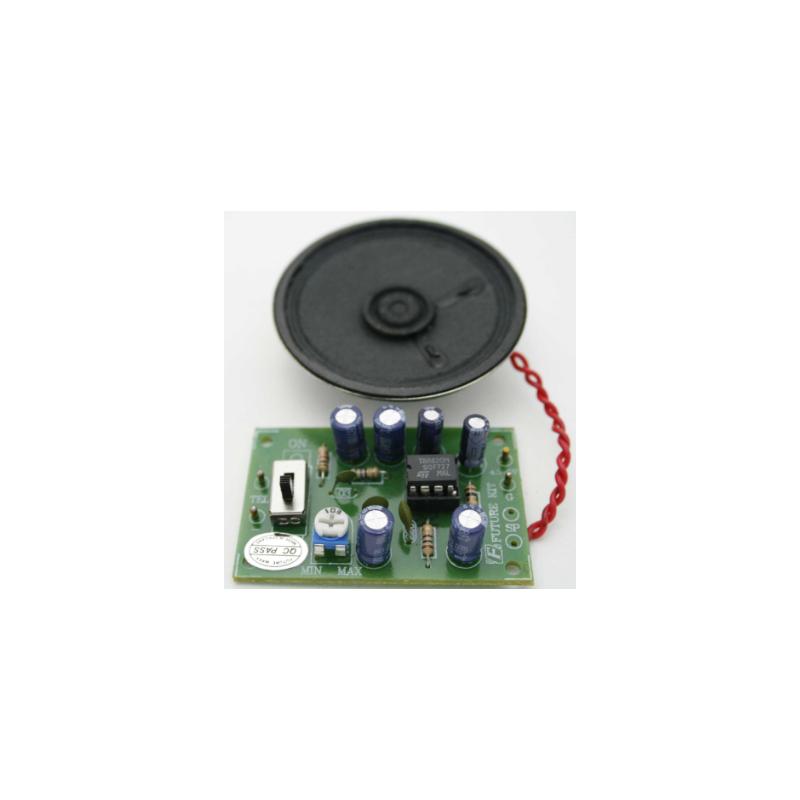 Kit electrónico para montar un Amplificador para 2 líneas telefónicas