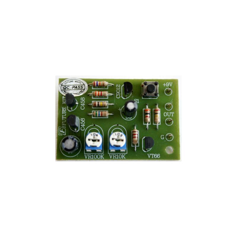 Kit electrónico para montar un Timbre anunciador electrónico 9 Voltios