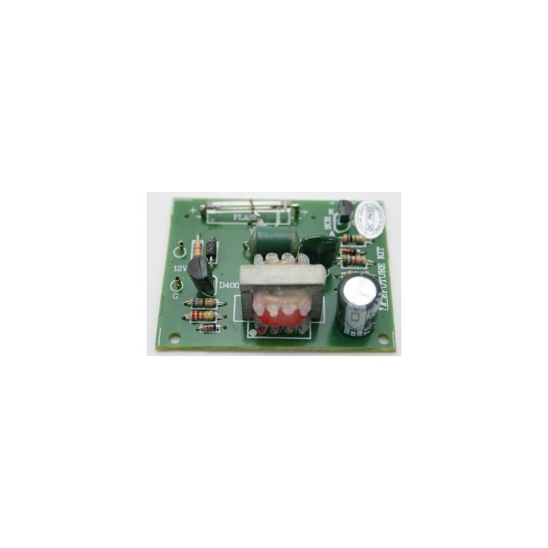 Kit electrónico para montar un flash en tubo de xenón ideal para coche