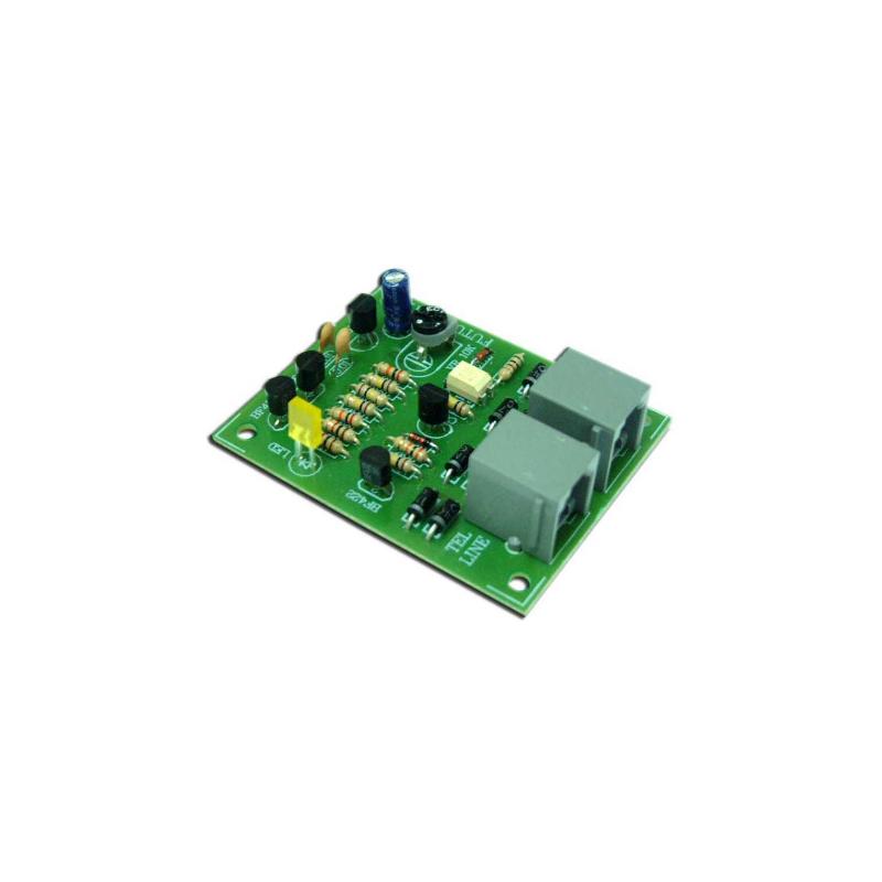 Kit electrónico para montar una Protección de la línea telefónica
