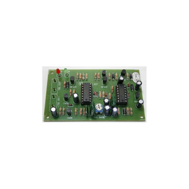 Kit electrónico para montar una Protección privada telefónica (20 seg)