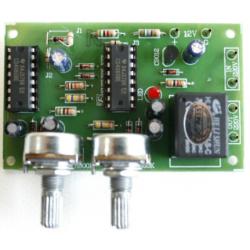 Kit electrónico para montar un Interruptor encendido/apagado circular