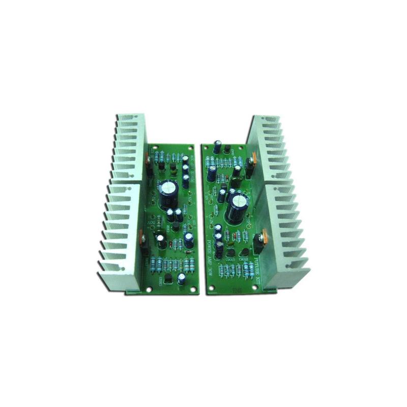 Kit electrónico para montar un Amplificador de potencia estéreo 30+30W