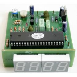 Kit electrónico para montar un Medidor de corriente alterna hasta 500V