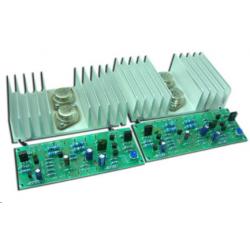 Kit electrónico para montar un Amplificador de potencia estéreo a 50 W