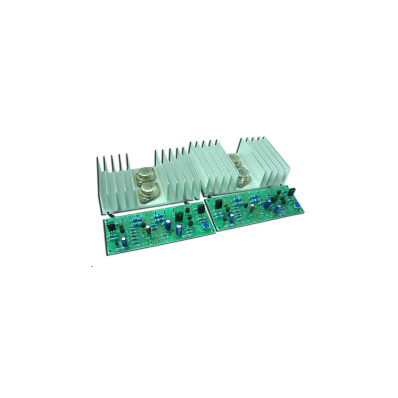 FK660(Mono) - FK661(Stereo) POWER AMPLIFIER 50W.