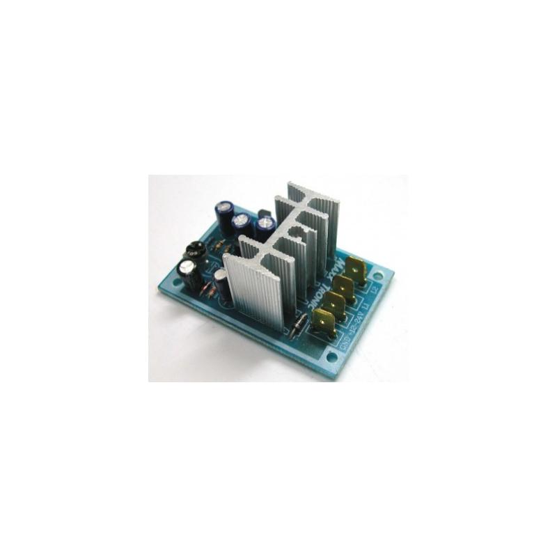 Kit electrónico para montar DC Flash 15A (Mofet Drive) Flash ajustable