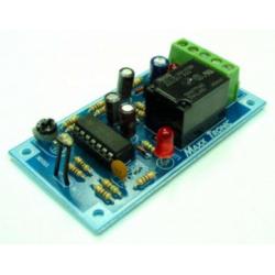 Interruptor activado nocturno (retardo on-off) 500 Watios a 220 VAC.