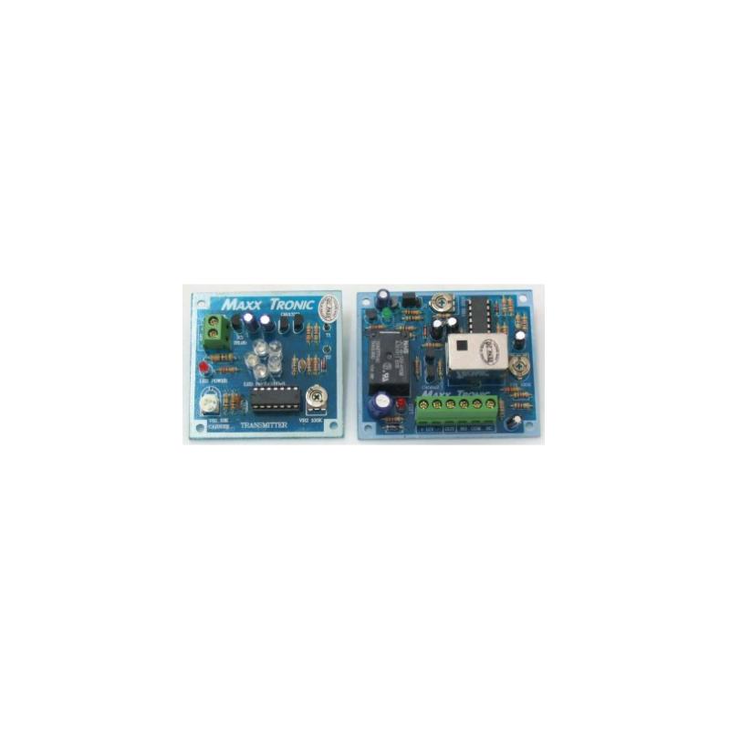 Sensor infrarrojo de transmisión y recepción a distancias de 24 metros