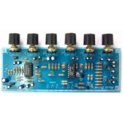 Mezclador para micrófono de karaoke de 3 canales de entrada de audio
