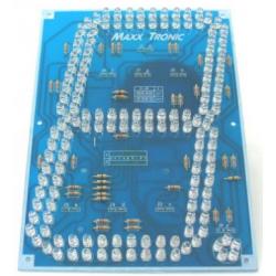 """Display de siete segmentos con pantalla de 7"""" y LED's ultrabrillantes"""