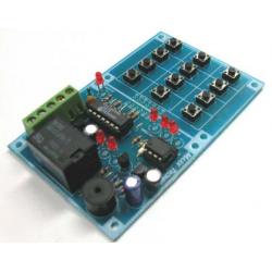 Kit para montar un interruptor de código digital entre 1-100 dígitos