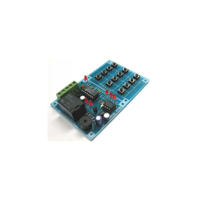 Interruptor codigo digital (1-100 digitos)
