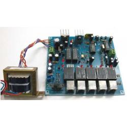 Kit electrónico para montar mini PABX de línea telefónica. 4 teléfonos