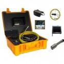 """Kit de inspección de tubería con monitor de 10"""" y maleta de transporte"""