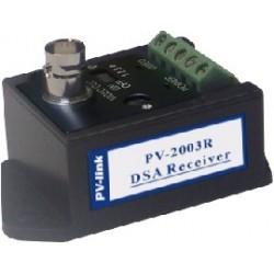 Transceptor/receptor de 1 canal pasivo auto-ajustable y tecnología DSA