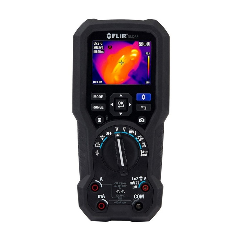 Multímetro termográfico industrial FLIR DM285 con IGM y Bluetooth