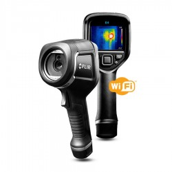 Cámara termográfica profesional FLIR E4 con infrarrojos, WiFi y MSX
