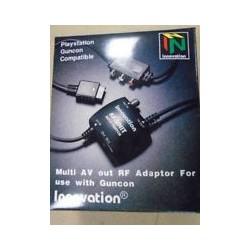 Conmutador automático por puerto paralelo. Switch de TV a PS1 o PS2