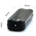Grabadora de voz espía oculta en linterna led con grabación 120 horas