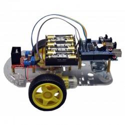 Kit para montar un robot por control remoto con infrarrojos