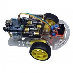 Kit para montar un robot con bluetooth y controlarlo desde el móvil