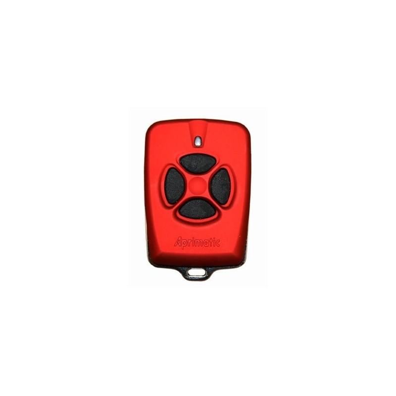 Mando de garaje original de 4 botones y 433 MHz modelo Aprimatic TX4S