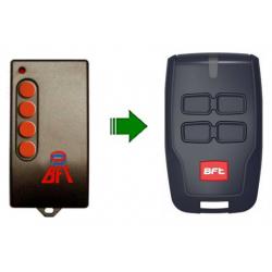 Mando de garaje original de 4 botones y 433.92 MHz BFT MITTOBRCB4