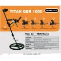 Detector de oro, metales y tesoros Titan Ger – 1000 (5 sistemas de búsqueda)