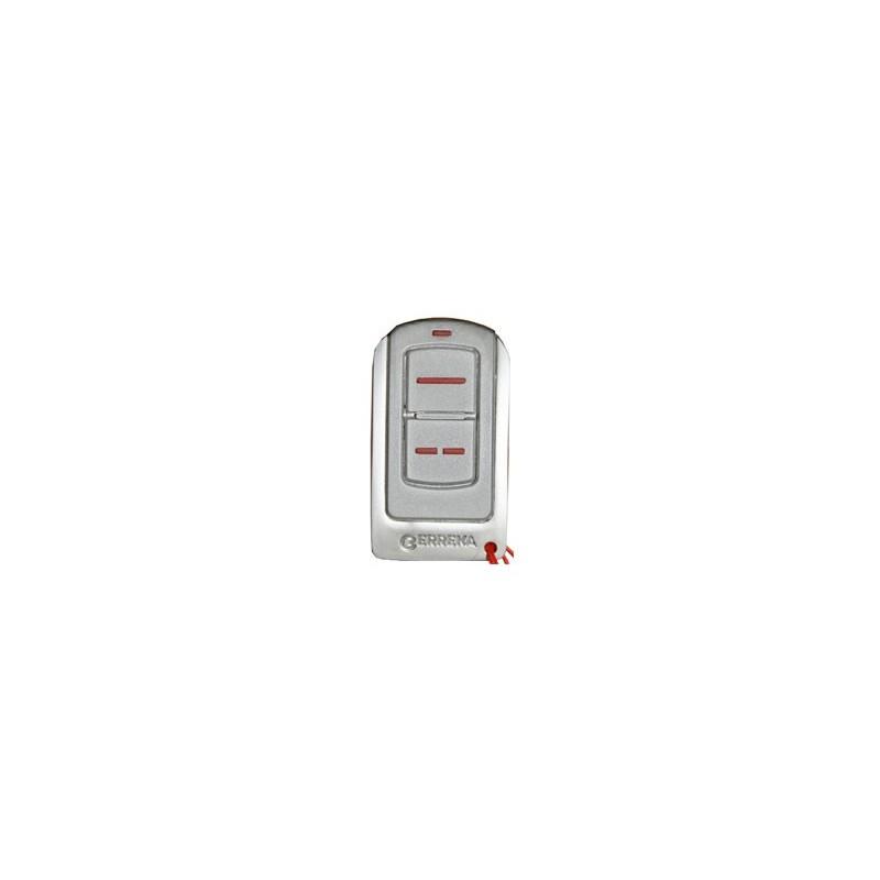 Mando de garaje original de 2 canales frecuencia 433 MHz ERREKA IRIS2