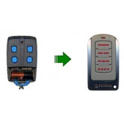 Mando de garaje original de 4 botones frecuencia 433 MHz ERREKA IRIS4