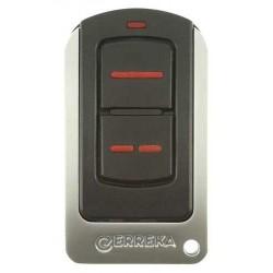 Mando de garaje original de 2 botones frecuencia 868 MHz ERREKA IRIS28