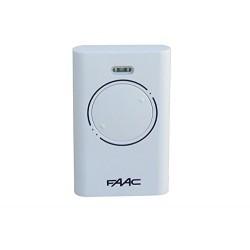 Mando de garaje original de 2 botones y con 868 MHz FAAC XT2-868-SLH