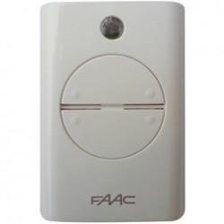 Mando de garaje original 4 botones frecuencia 433 MHz FAAC XT4-433-RC