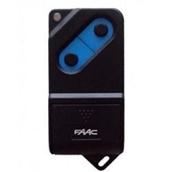 Mando de garaje: FAAC TM-2 botones 433 Mhz. 12 digitos, binario