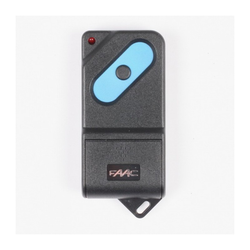 Mando de garaje original de 1 botón con frecuencia 868 MHz FAAC TM1DS