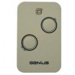 Mando de garaje original con 2 botones y de 868 MHz GENIUS TX2 JLC 868