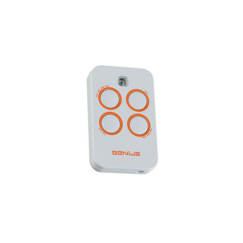 Mando de garaje original con 4 botones y de 433 MHz GENIUS TX4 JLC 433