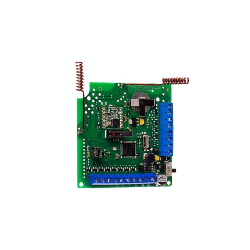 Módulo de integración inalámbrico para sistema cableado de alarma Ajax
