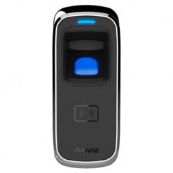 Control de acceso por huella y tarjeta RFID. Apto para exterior. Anviz