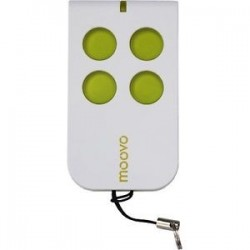Mando de garaje original de 4 botones y frecuencia 433 MHz MOOVO MT4