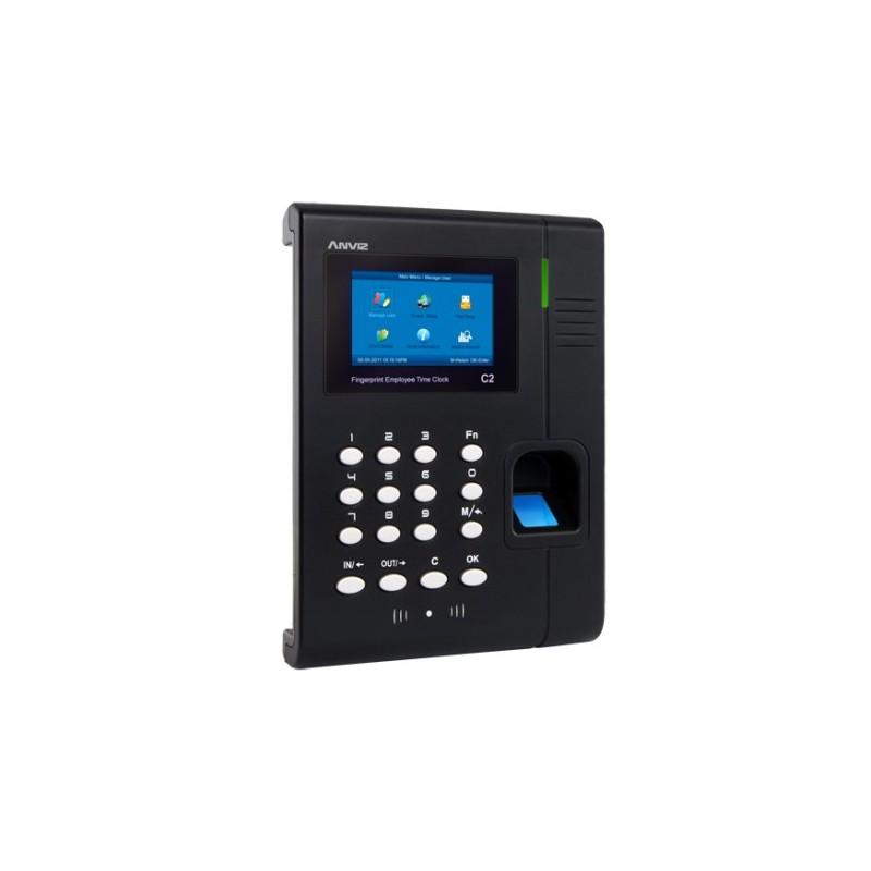Control de presencia de identificación por huella, tarjeta y pin Anviz