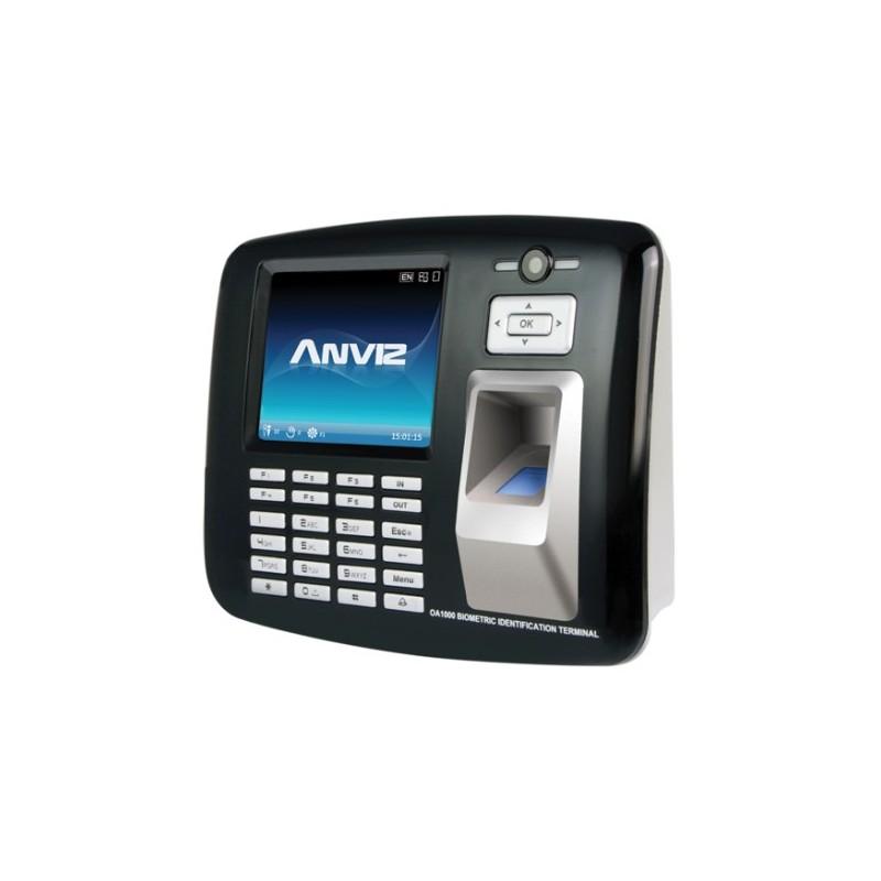Control de acceso y presencia WIFI cámara 1.3Mpx huella, tarjeta y pin